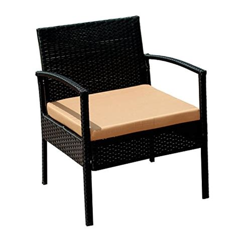 Ebs Outdoor Rattan Garden Furniture Patio Conservatory Sofa With Coffee Table