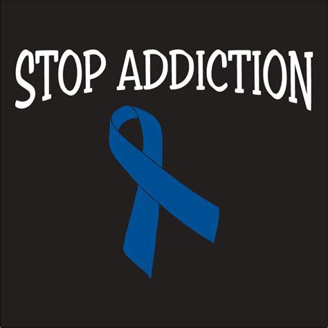 T Shirt Cotton Gildan Addicted addiction awareness custom ink fundraising