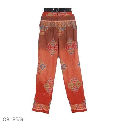 Pgp Celana Santai Motif Celana Aladin Murah Celana Wanita celana aladin etnik motif songket celana murah