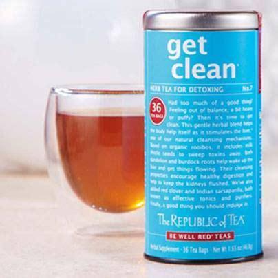 The Republic Of Teas Get Clean Detox Tea by Pin By The Republic Of Tea On Instagram
