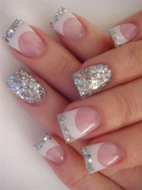 beautiful glitter nail art design for elegant nail elegant nail art designs