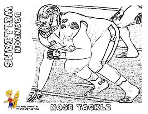 coloring pages college football teams action football coloring pages to print football free