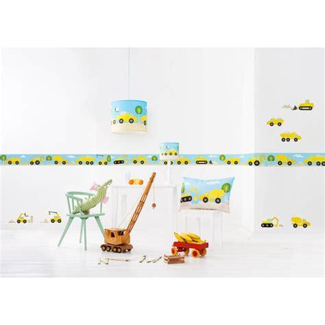 kinderzimmer bordure bagger selbstklebende bord 252 re kinder bagger baustelle