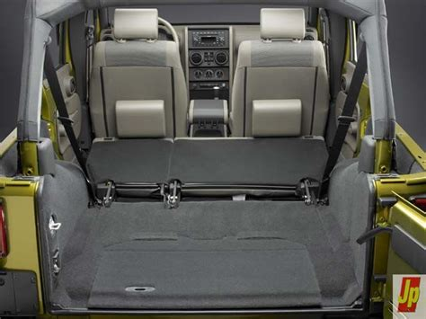 Cargo Space Jeep Cargo Space