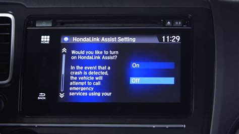 honda display audio phone settings  storing speed dial contacts youtube