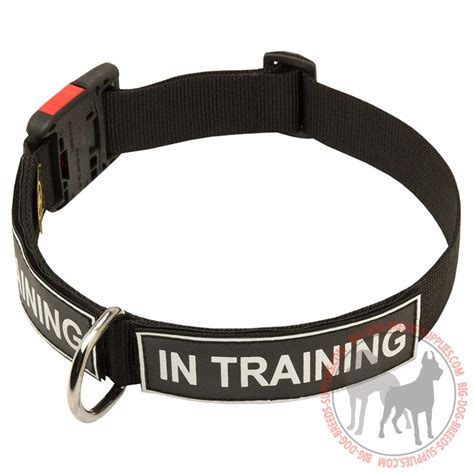puppy id collars patch collar rottweiler breed identification