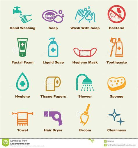 Bath Shower Faucet hygiene elements stock vector image of bubble paper