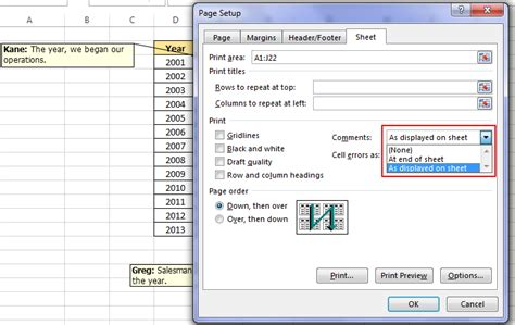 print selected worksheets excel excel vba print preview selection print selected area