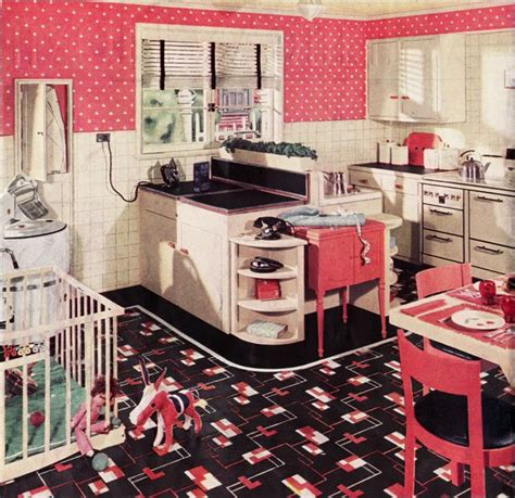 vintage kitchen decor ideas retro kitchen design sets and ideas