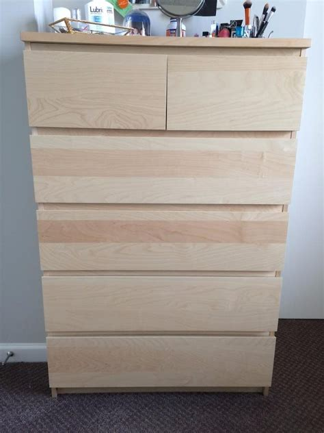 Malm Drawers For Sale by Malm 6 Drawer Dresser For Sale In Chicago Il Item