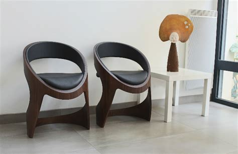 stylish modern chair designs by martz edition curvy chairs and stools by martz edition