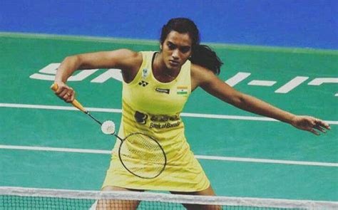 Pv Sindhu In Favour Of Contract System For Indian Badminton Players