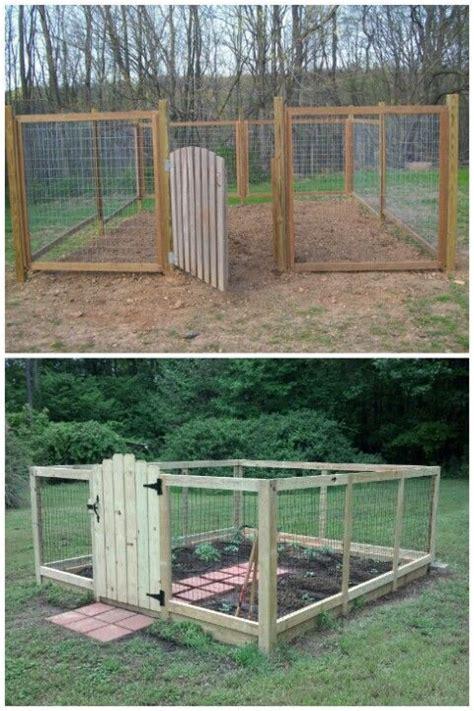 Deer Proof Vegetable Garden Retaining Wall Pit Garden Fence Ideas Deer Proof