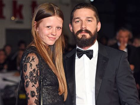 Shia LaBeouf: Mia Goth Wears Engagement Ring : People.com