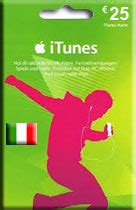 Recharge Itunes Gift Card - 25 euro itunes gift card italy accounts