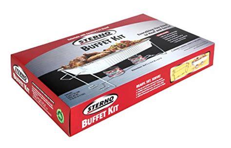 Sterno Full Size Buffet Kit New Ebay Buffet Kit