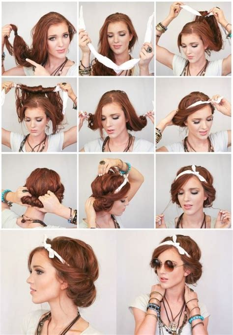 16 beautiful hairstyles with scarf and bandanna pretty 25 best ideas about bandana hairstyles on pinterest