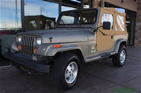 1989 Jeep Wrangler Automatic Transmission Find Used 1989 Jeep Wrangler Soft Top Automatic