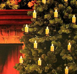 luminara christmas tree strand candles set of 5 luminara led tree candles strand flameless bronze white ebay