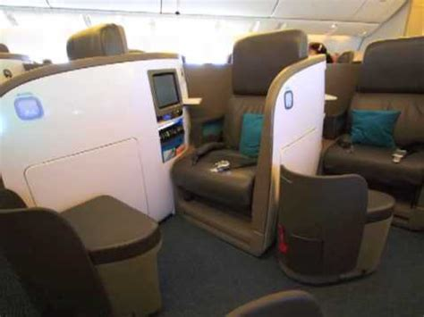 business class boeing 777 air new zealand lie flat bed seat conversion nz46