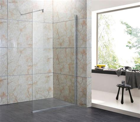 doccia parete parete doccia in cristallo 8mm walk in