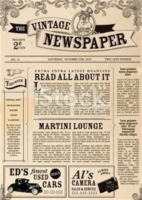 1000 Images About Newsletter On Pinterest Newsletter 1000 Images About Newspaper Template On