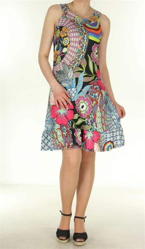 Robe Courte Fluide Ete - robe courte d ete fluide et originale sans manches ludy