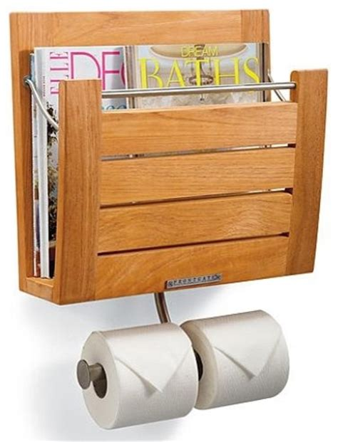 brown wall mount magazine rack contemporary magazine