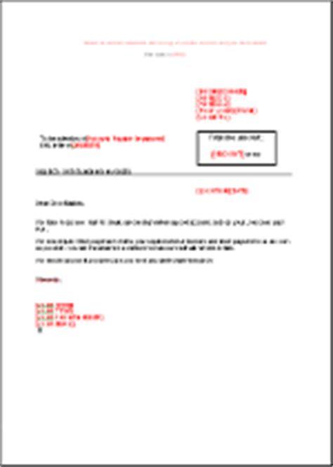 Customer Letter For Non Payment Reminder Letter Level 1 Financial Closing En