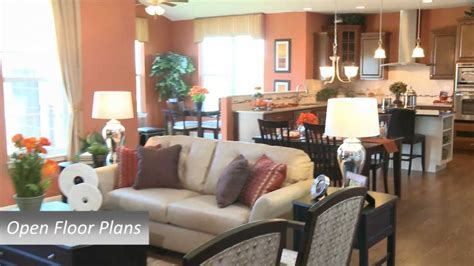 decorated homes photos model home tour of river hills in bolingbrook il by