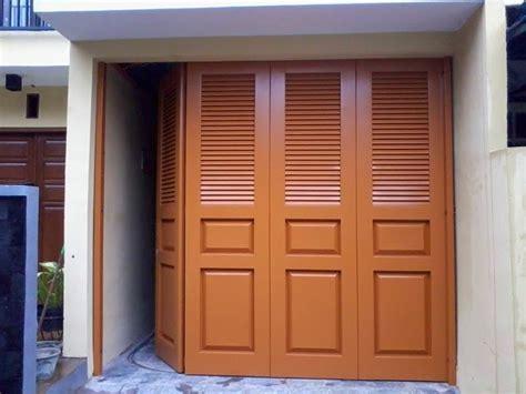Jual Pintu Garasi jual pintu garasi besi rumah minimalis pintu garasi depok