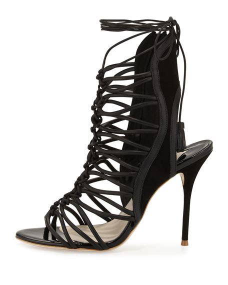webster gladiator sandals webster lace up gladiator sandal black