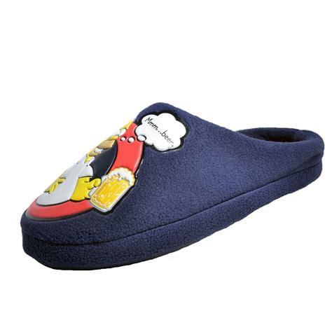 homer slippers simpsons slippers 28 images mens homer slippers