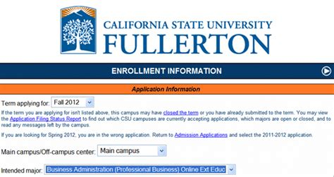 Https Willamette Mba Applicantportal Portal Login by How To Apply For Business Admin At Cal State Fullerton