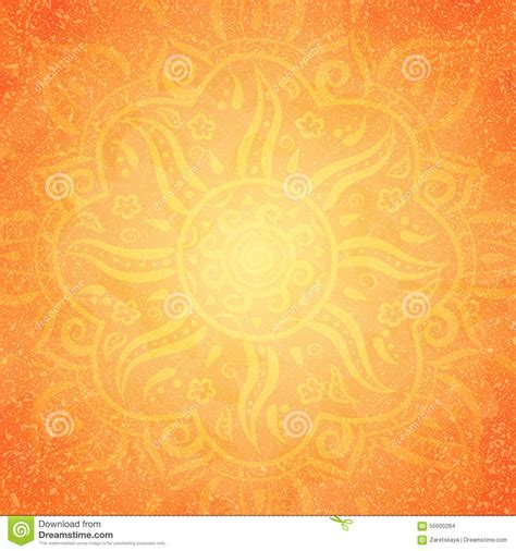 indian pattern background vector orange indian pattern stock vector image 55600284
