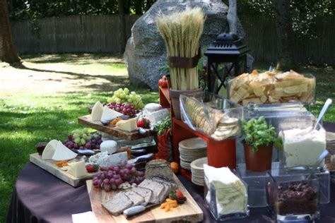 Backyard Winery Menu Outdoor Ideas Boston Bg Events And Catering Boston