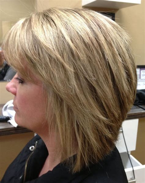 highlights for black hair and layered for ladies over 50 layered bob with highlights hairstyles pinterest