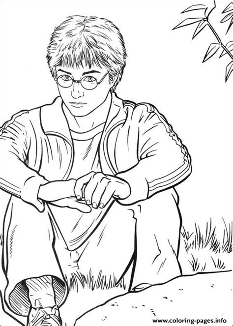 harry potter coloring pages harry harry potter pictures to color coloring pages printable