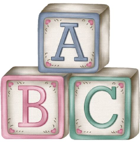 Baby alphabet blocks clipart   BBCpersian7 collections