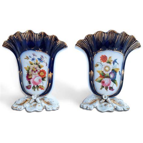 vasi di porcellana coppia di vasi da fiori tulipi 232 res in porcellana in