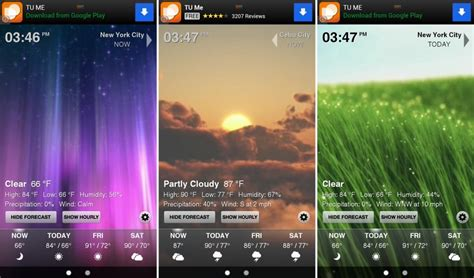 best free weather app for android best new android apps of the month august 2012 edition