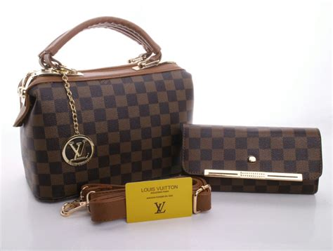 Louis Vuitton 2 In 1 batam branded tas louis vuitton doctor canvas 2in1