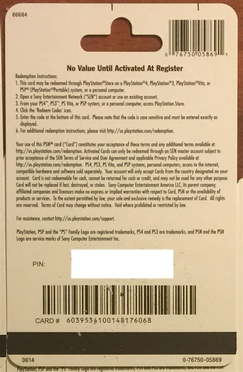 Psn Gift Card Code - psn gift card code usa 20 for the ps4 ps3 ps vita