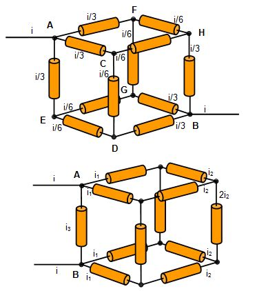 resistor cube resistor cube problem solution 28 images a cube is comprised of 12 identical 1 ohm resistor