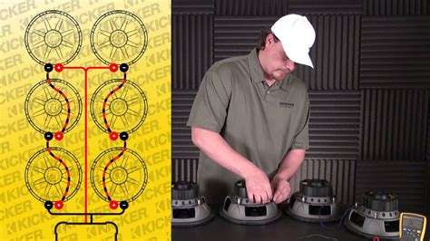 subwoofer wiring   ohm svc subs  series parallel youtube
