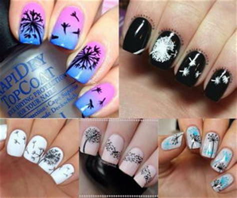 cute dandelion nail art designs hative