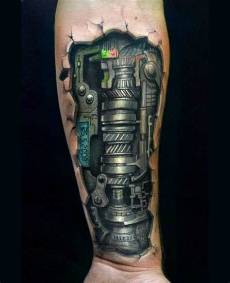 3d biomechanical tattoo biomechanical tattoos