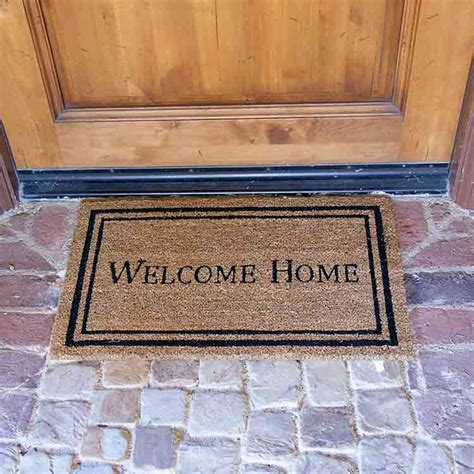 quot contemporary welcome home mats quot