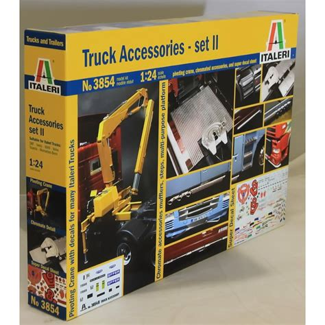 italeri 1 24 3854 truck accessories set 2 model truck kit