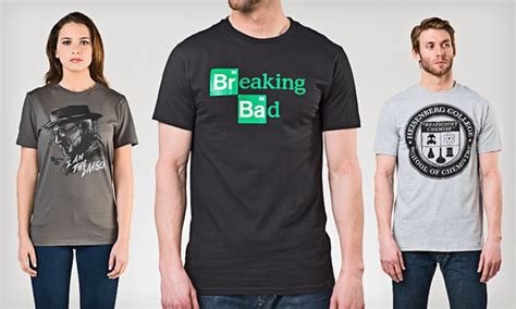 Tees Breaking Bad Diskon 1j8e breaking bad tees groupon goods
